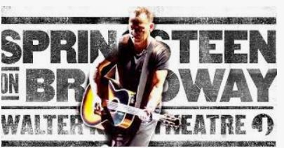 Springsteen on Broadway for New Years