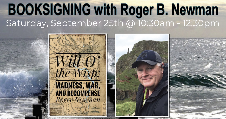 Book Signing with Roger Newman at Main Street Reads, Summerville, SC